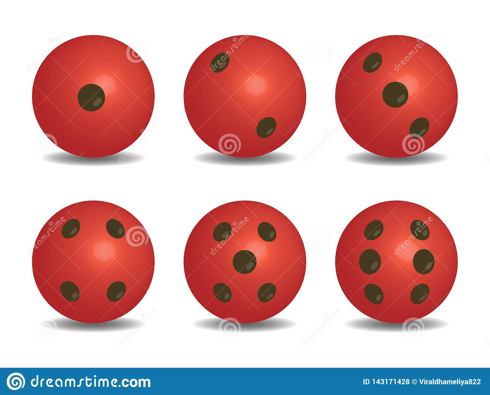 3d红色传染媒介切成小方块