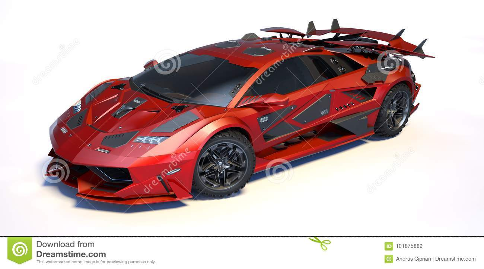 3D翻译-普通概念汽车