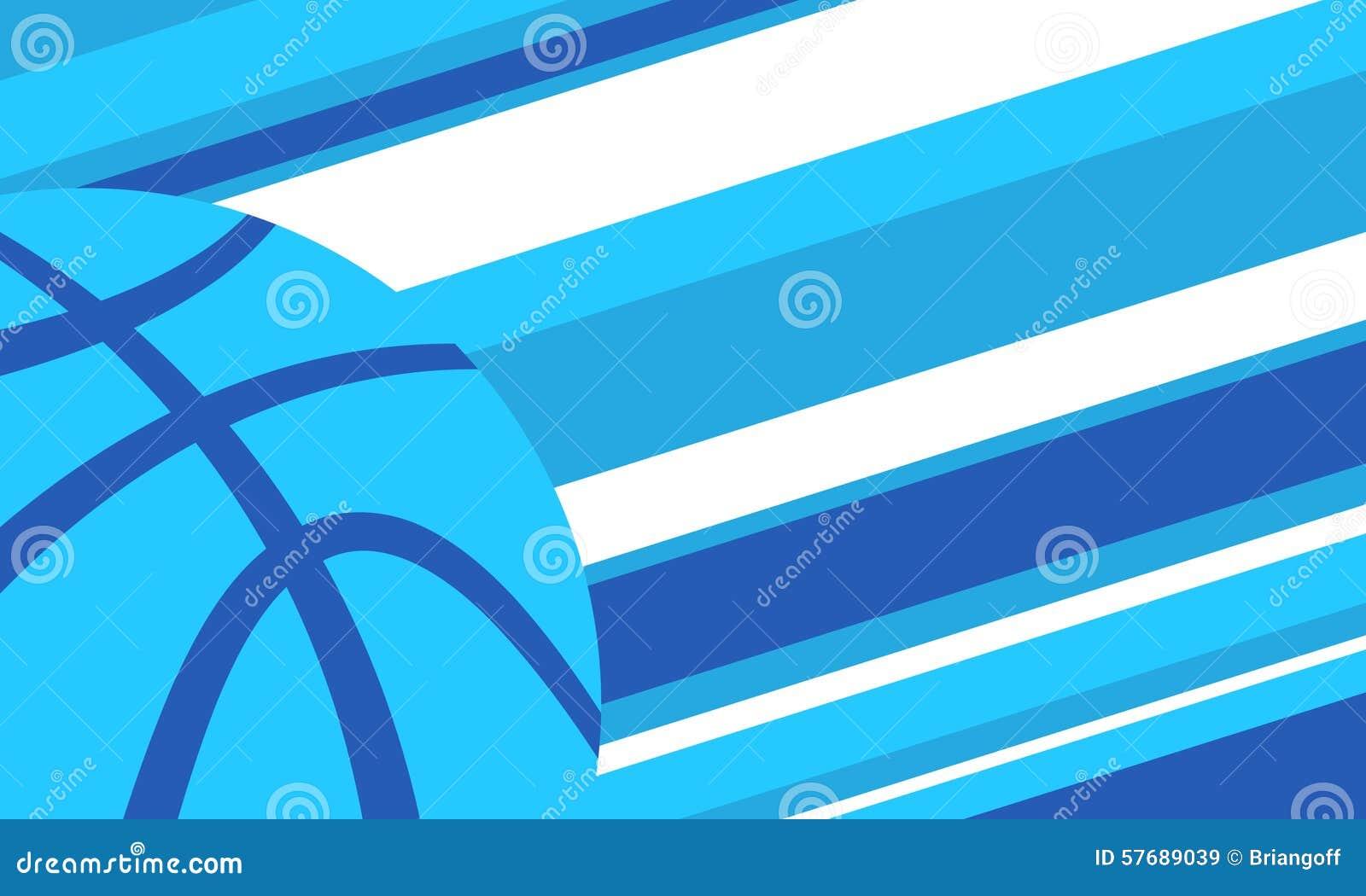 3d背景篮球被回报的例证可实现
