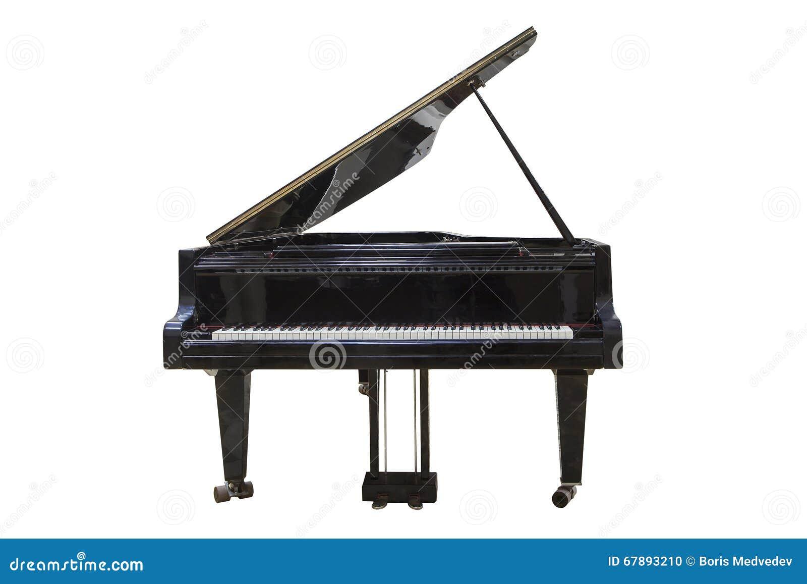 3d背景黑色明亮的全部例证查出钢琴