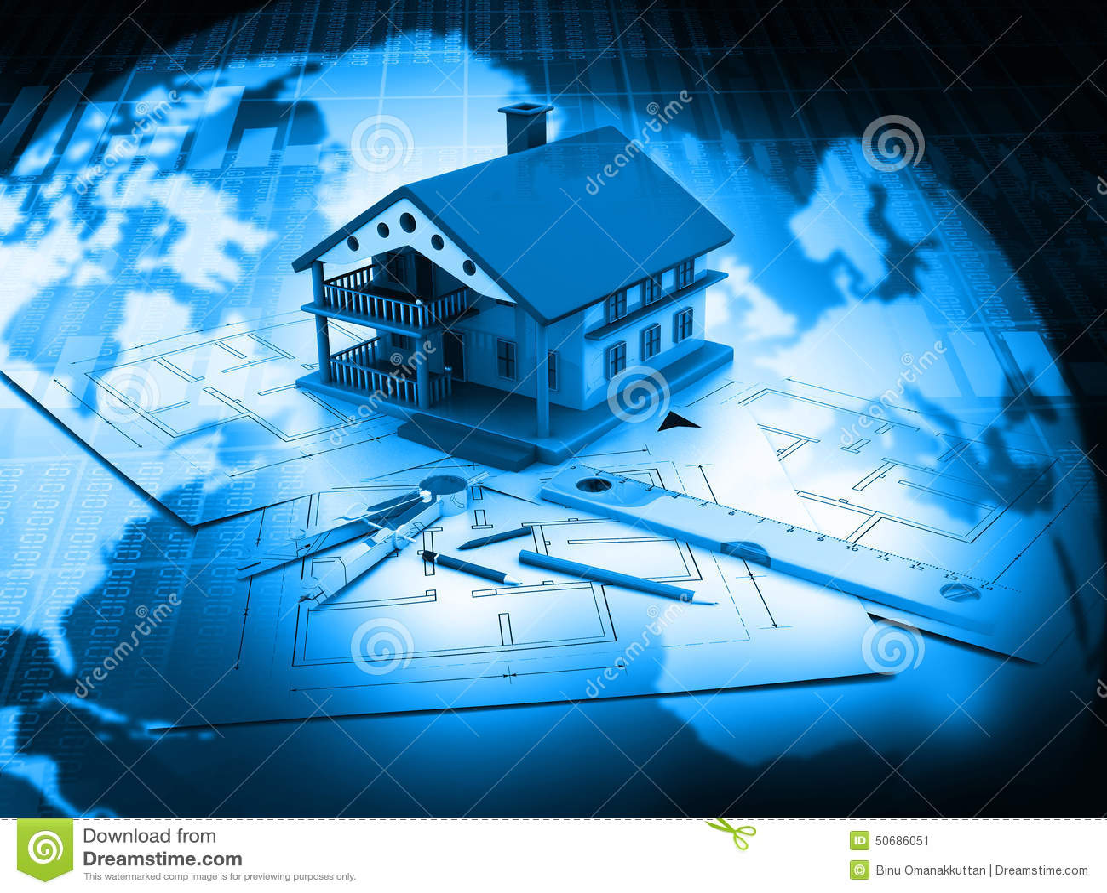Download 3d计划图纸的房子 库存例证. 插画 包括有 草拟, 抽象, 全球, 纸张, 背包, 蓝色, 想法, 缩放比例 - 50686051