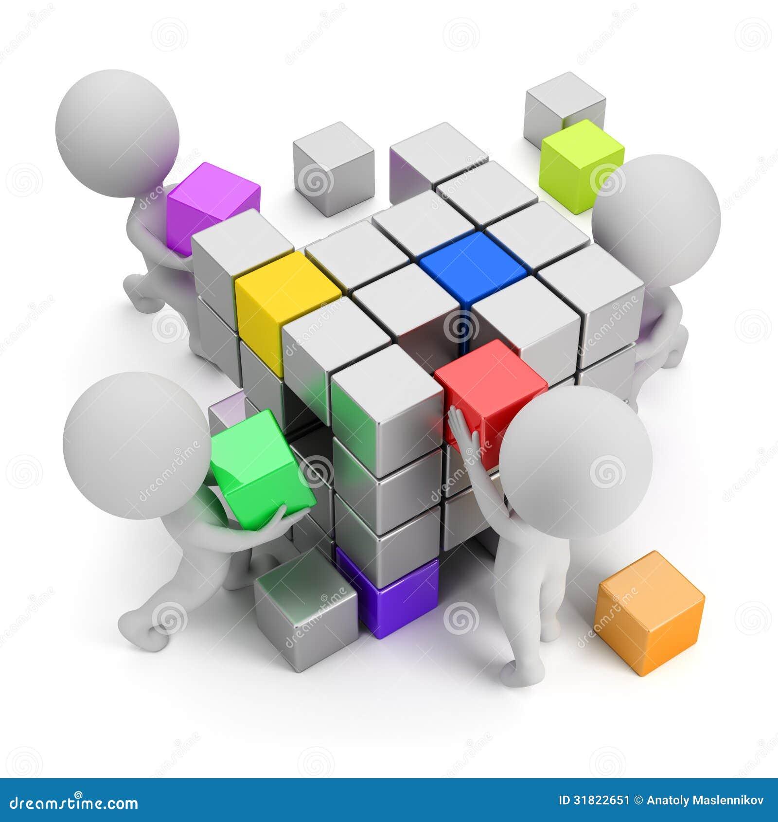 3d малые люди - принципиальная схема создаваться
