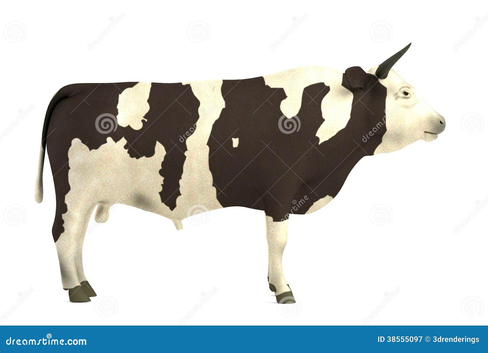 3d представляют быка