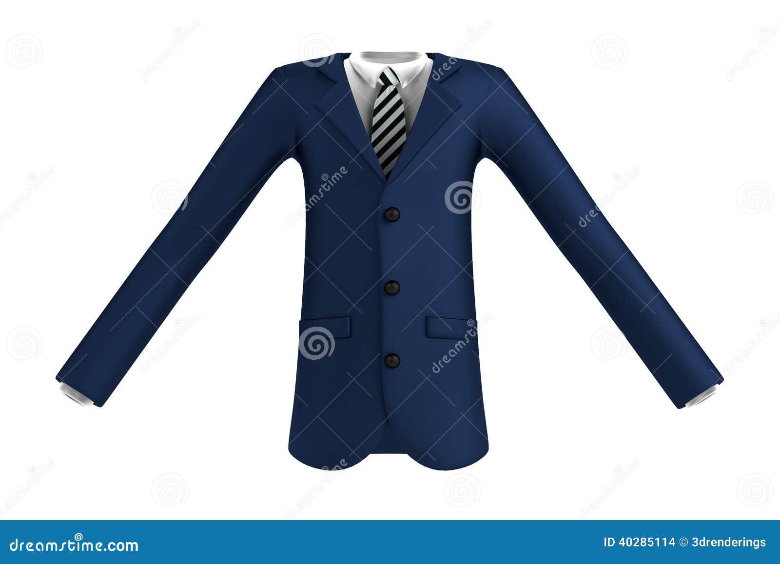 3d представляют костюма