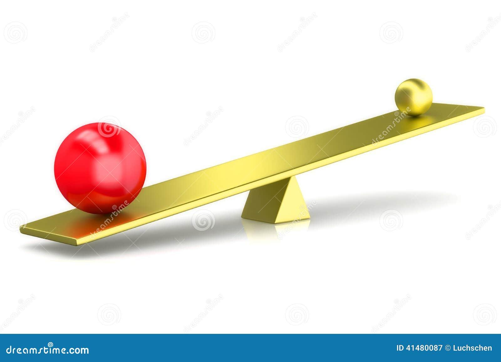 3D представляют шарики сравнивают