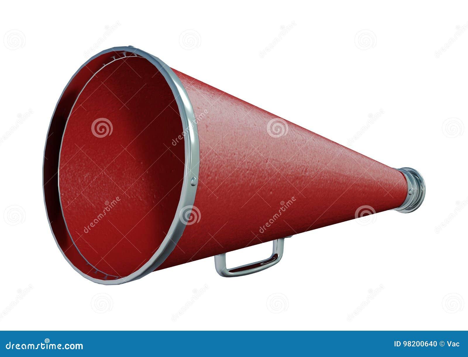 Download 3D представляя красный громкоговоритель на белизне Иллюстрация штока - иллюстрации насчитывающей громкоговоритель, дикторы: 98200640