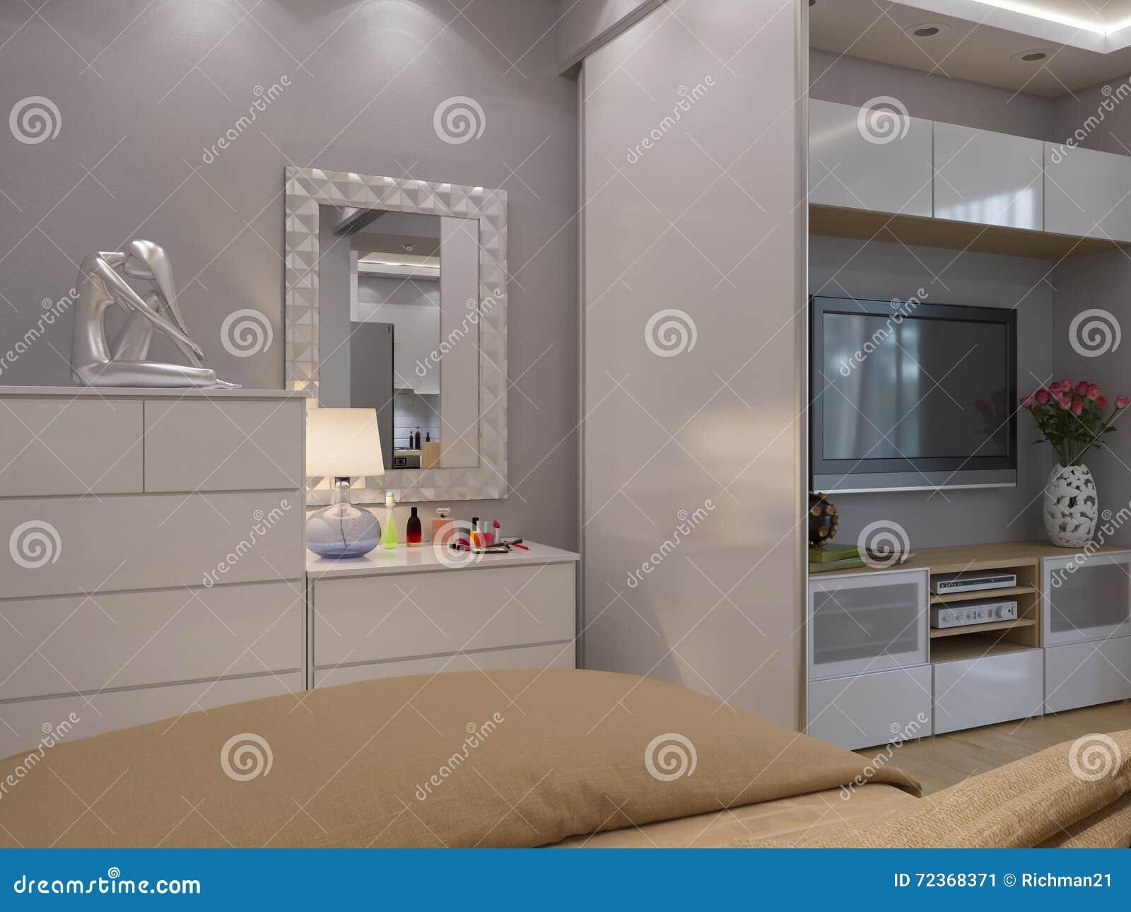 3d翻译客厅和卧室室内设计