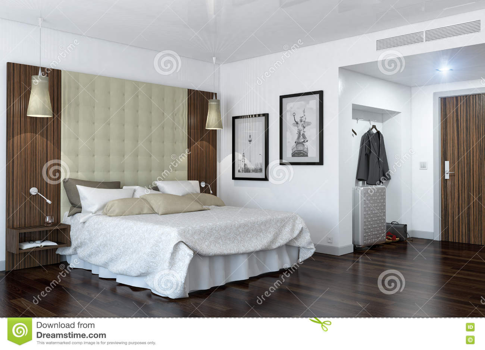 3d翻译-旅馆客房-卧室