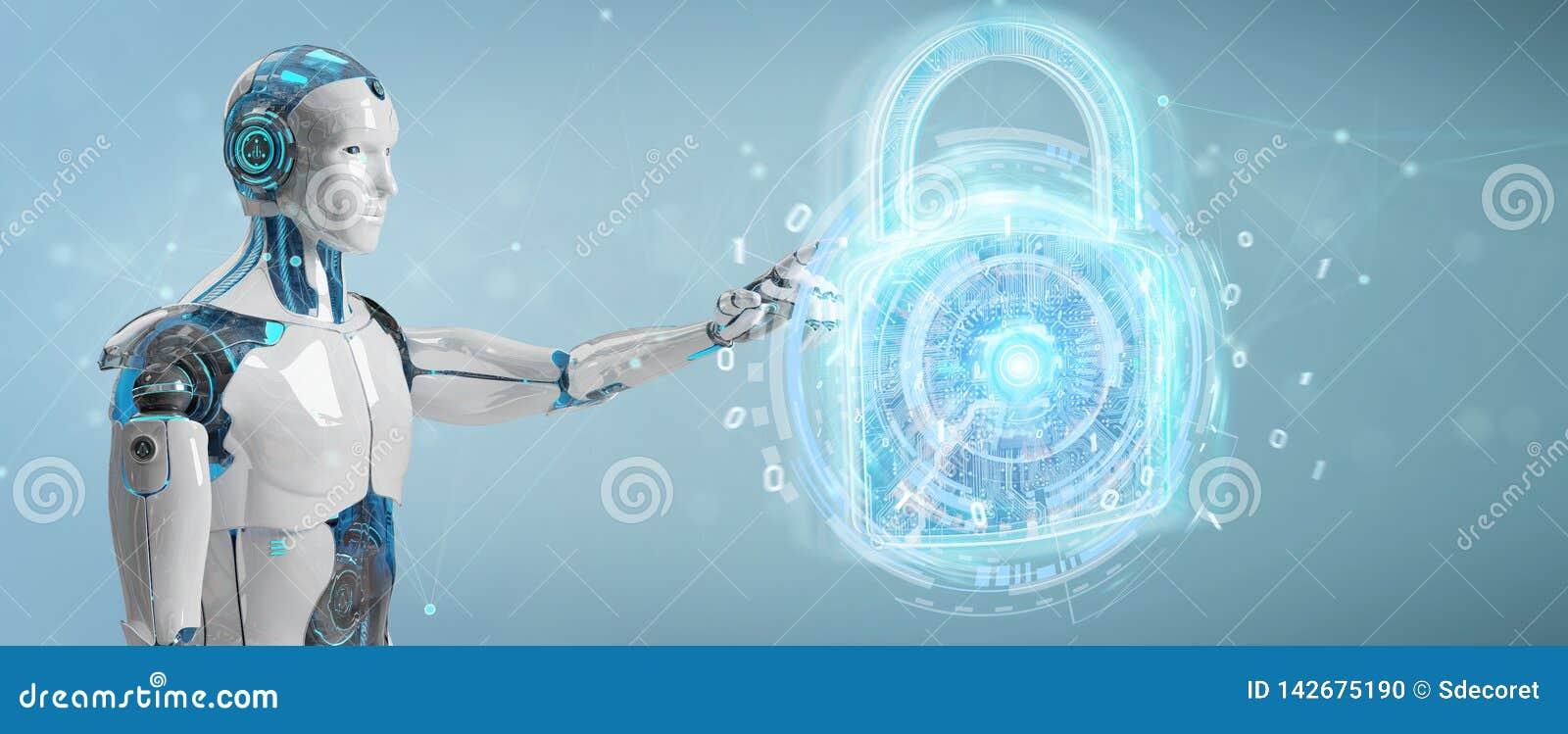 Интерфейс обеспечения безопасности сети используемый переводом робота 3D