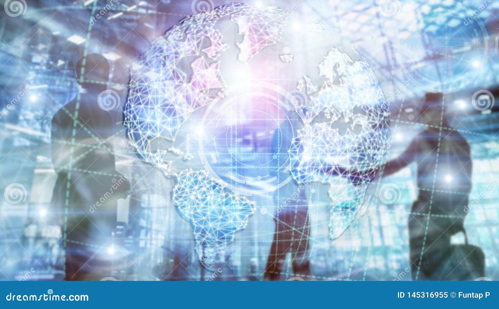 3D aardehologram, Bol, WWW, Globale Zaken en Telecommunicatie