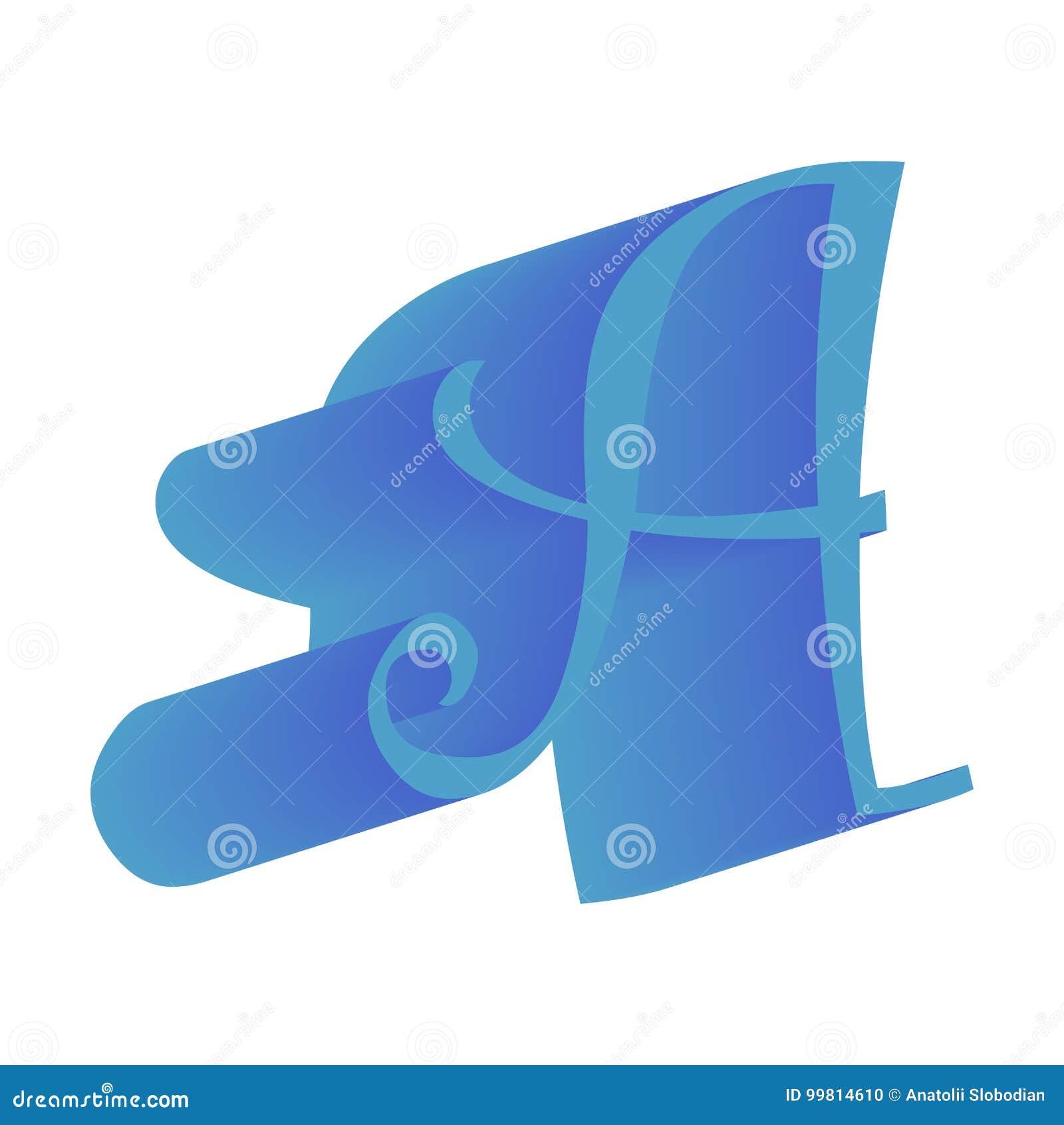 3D abecadła isometric chrzcielnica Listy w ten sposób dobrzy dla twój biznesu