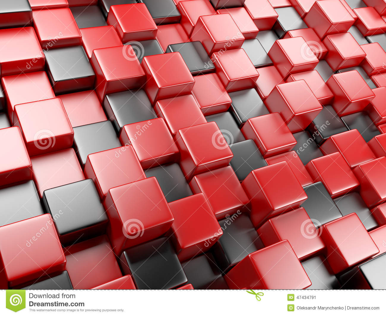 3d abstract cubes background - photo #44