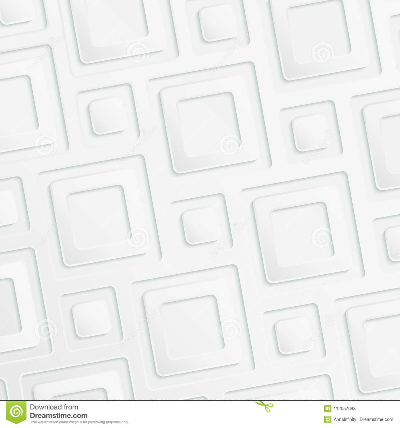 3d Abstract Paper Background In Light Colors Stock Vector