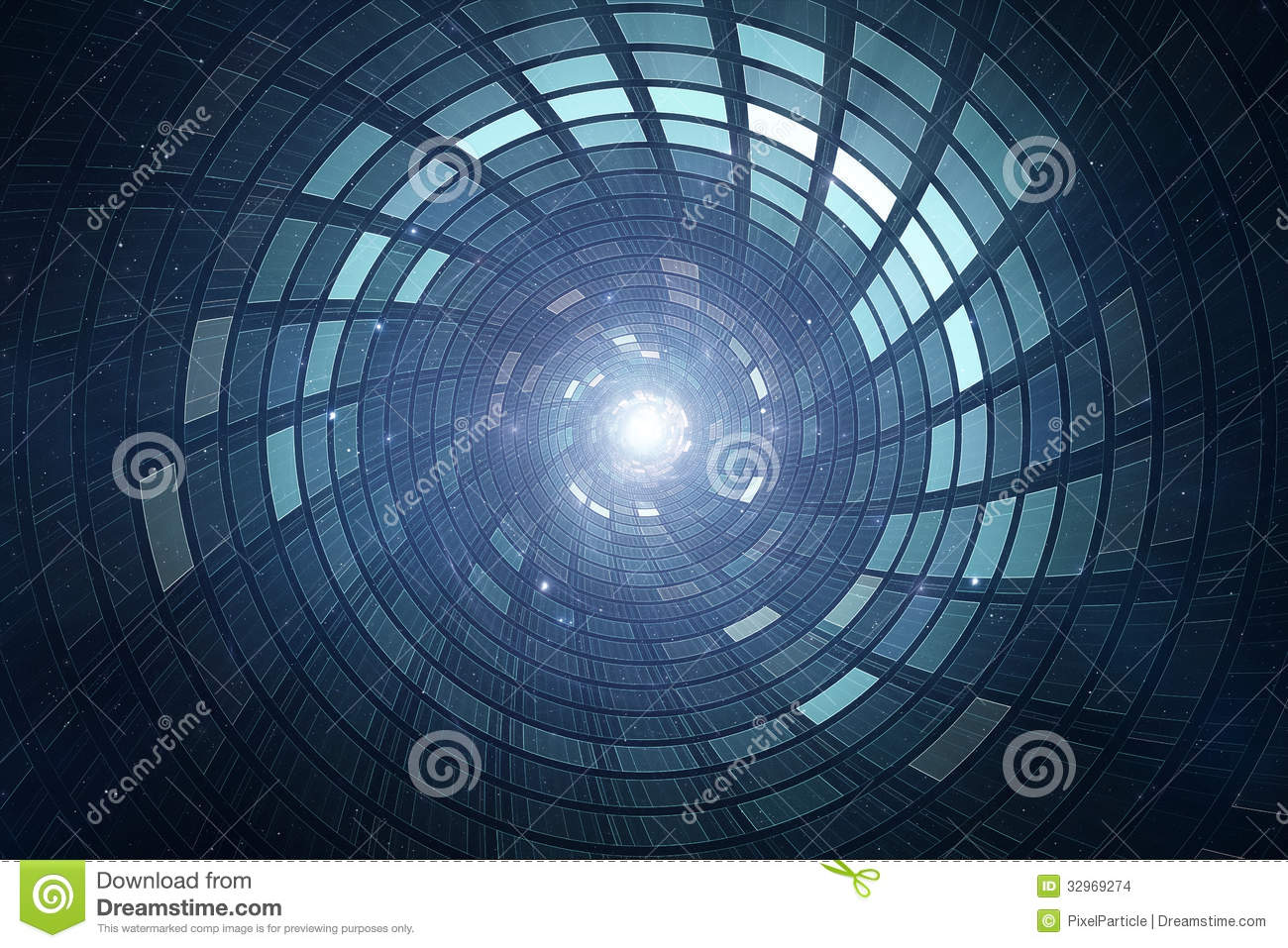 Royalty-Free Stock Photo & 3D Abstract Science Fiction Futuristic Background Stock Illustration ...