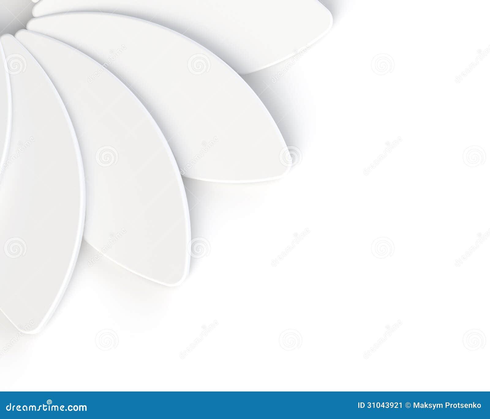3d abstract white flower on white background stock image for 3d white flower wallpaper