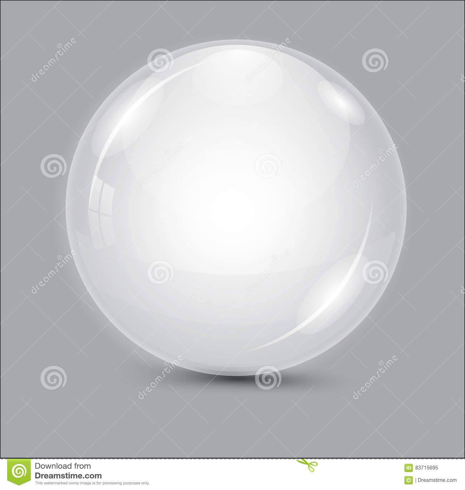 3d abstrakcjonistyczny tła piłki szkło piłka przejrzysta