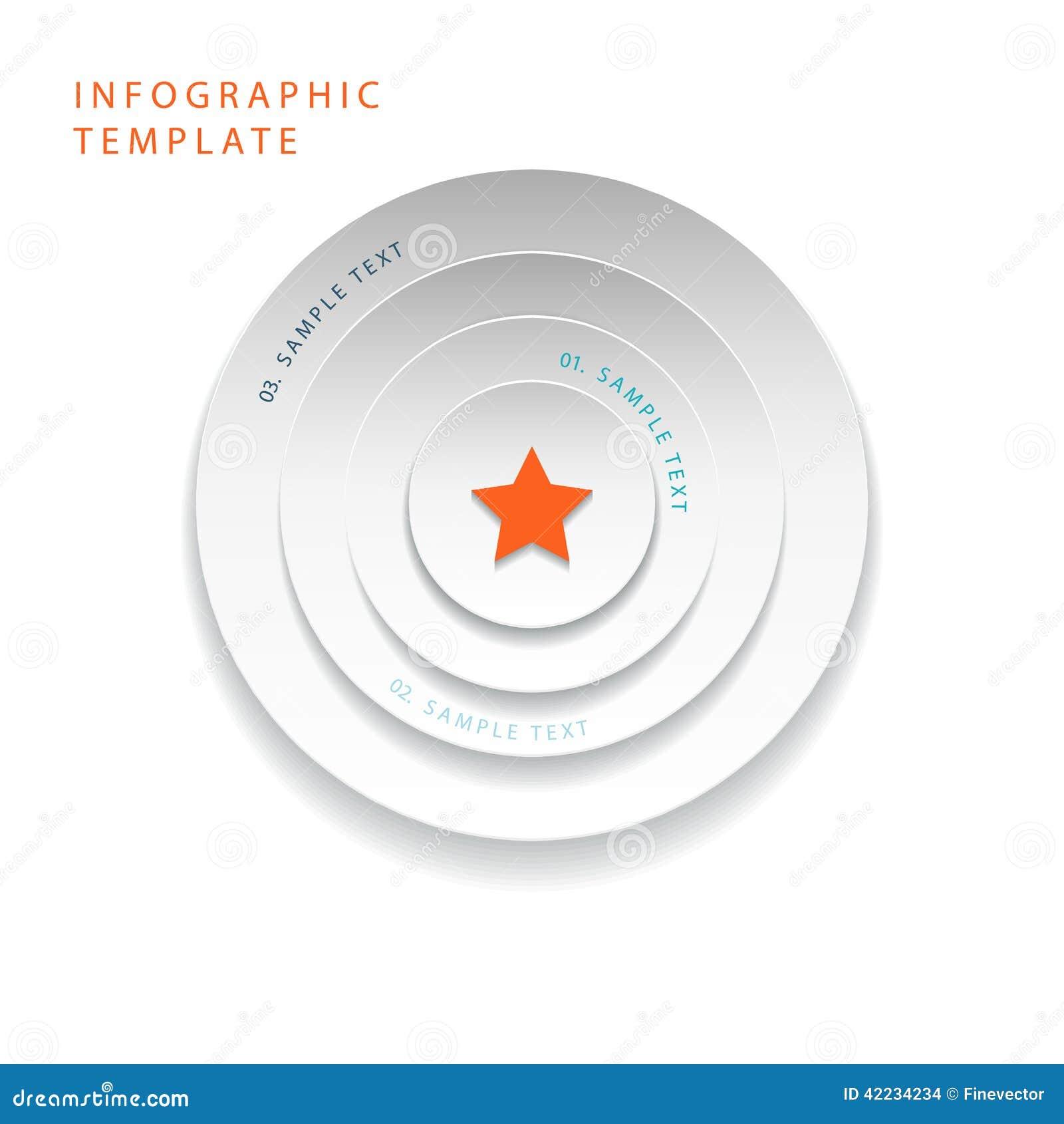 3d abstrato circunda gráficos da informação para a disposição do fluxo de trabalho, diagrama, opções do número, design web