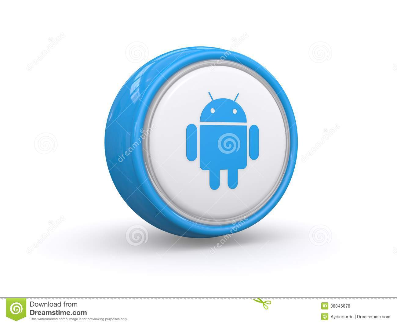 3d android icon editorial stock photo illustration of white 38845878