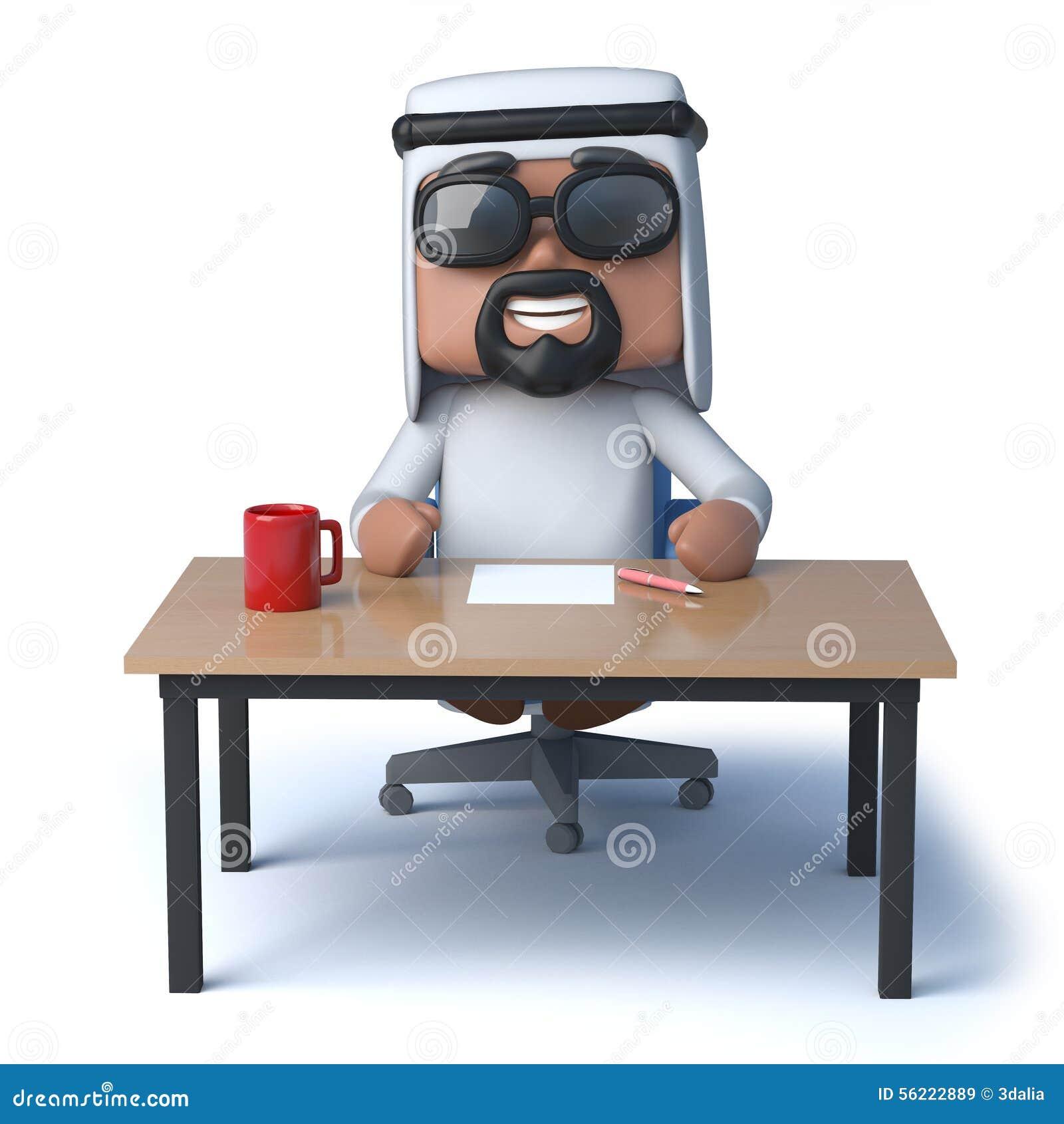 Arab Man Sits, Hugs A Beautiful Girl Royalty-Free Stock ...