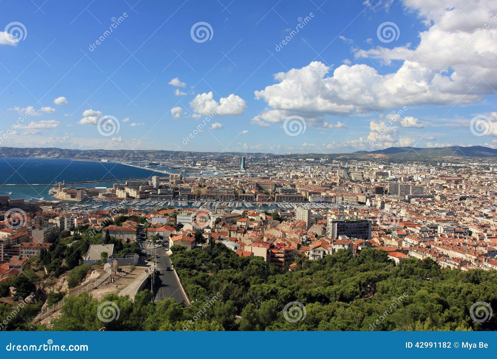 D Azur de la Provence CÃ te, France - vue sur Marseille