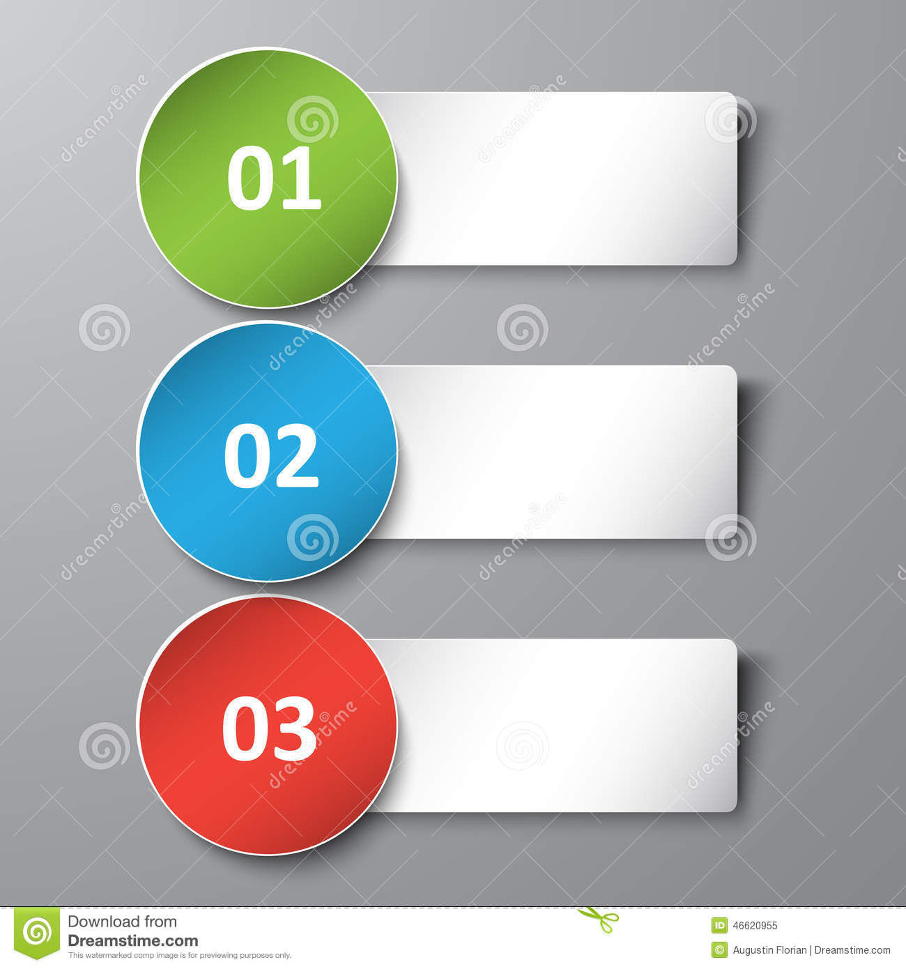 3d Banner Text Box Stock Vector Image Of Button Element