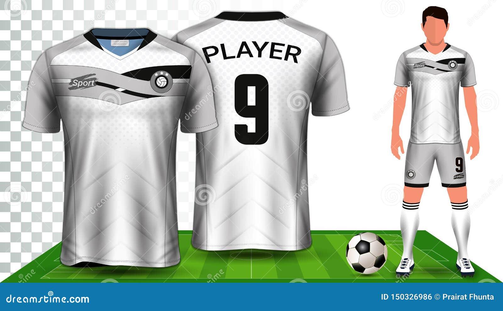 D?bardeur De Football Et Football Kit Presentation
