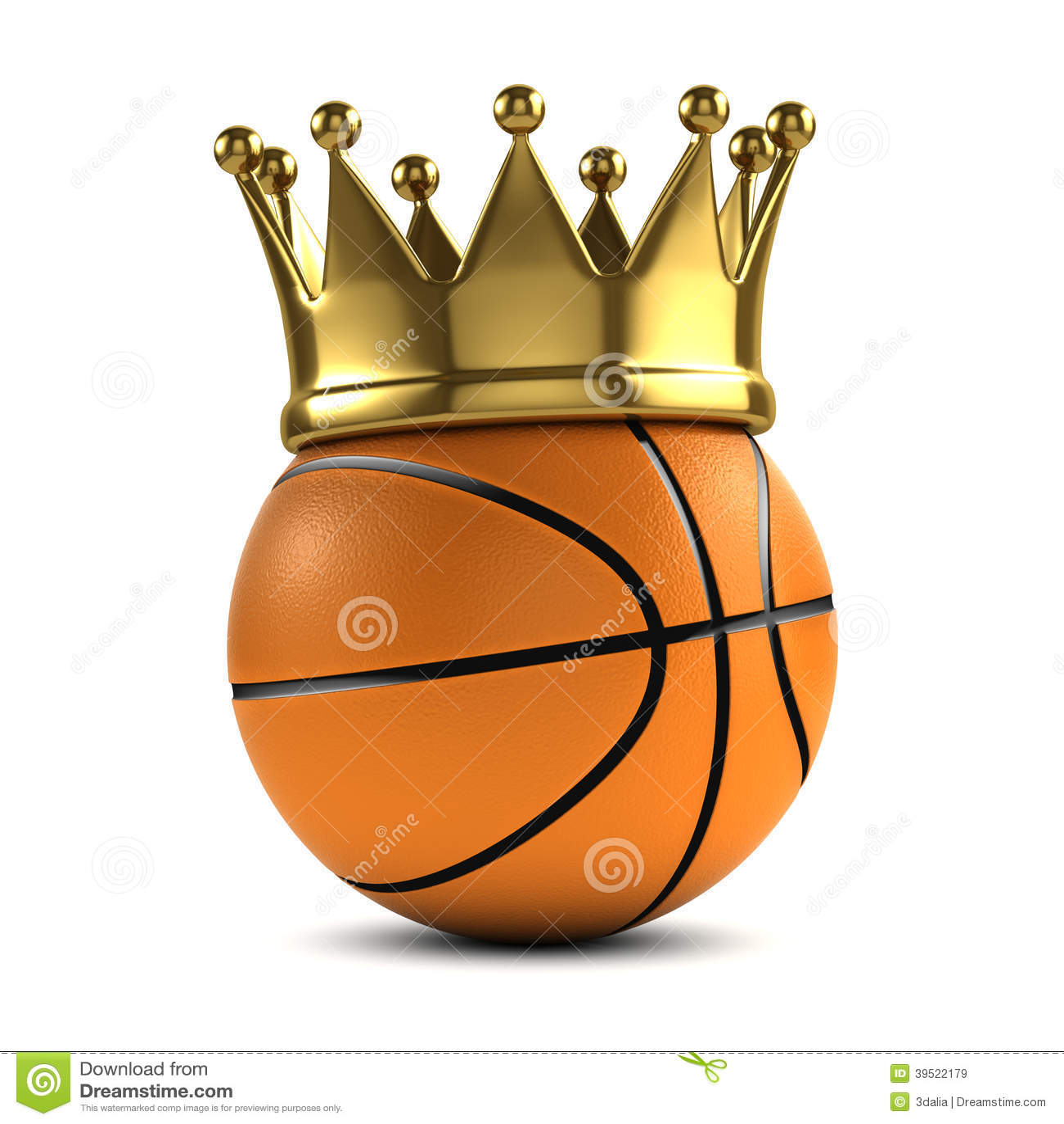 3d Basketball Champ Stock Illustration - Image: 39522179