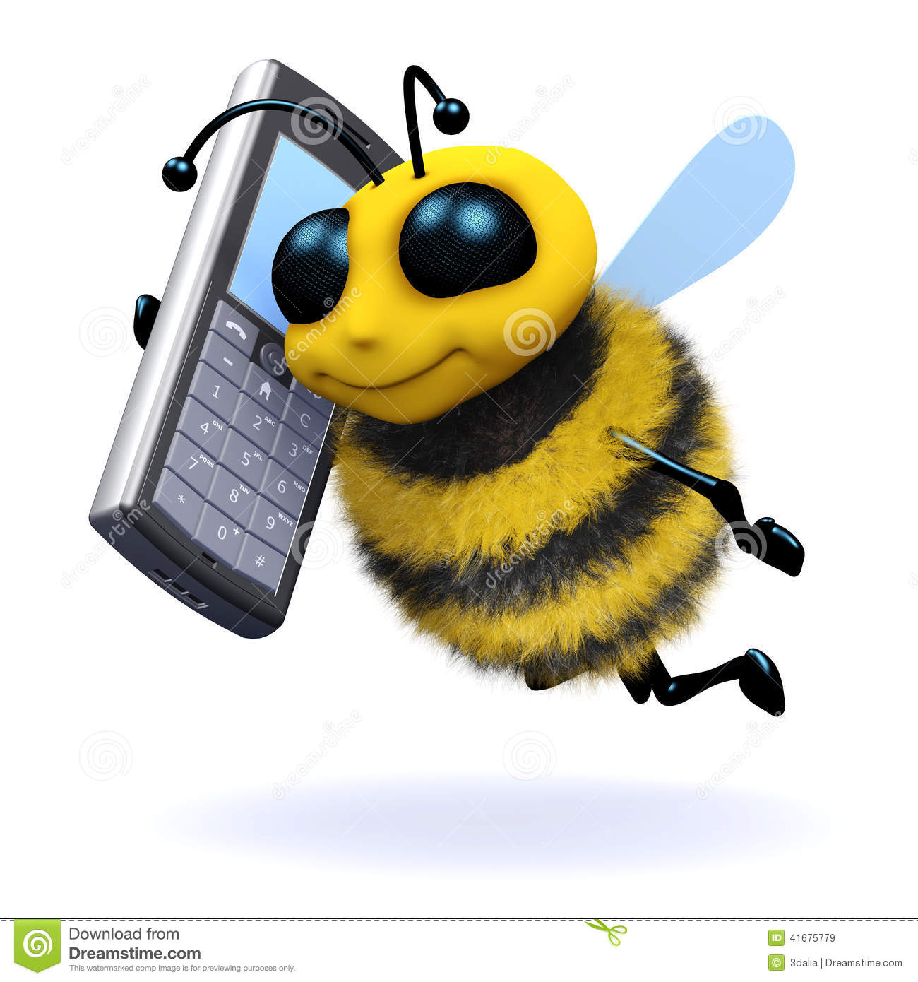 3d Bee mobile