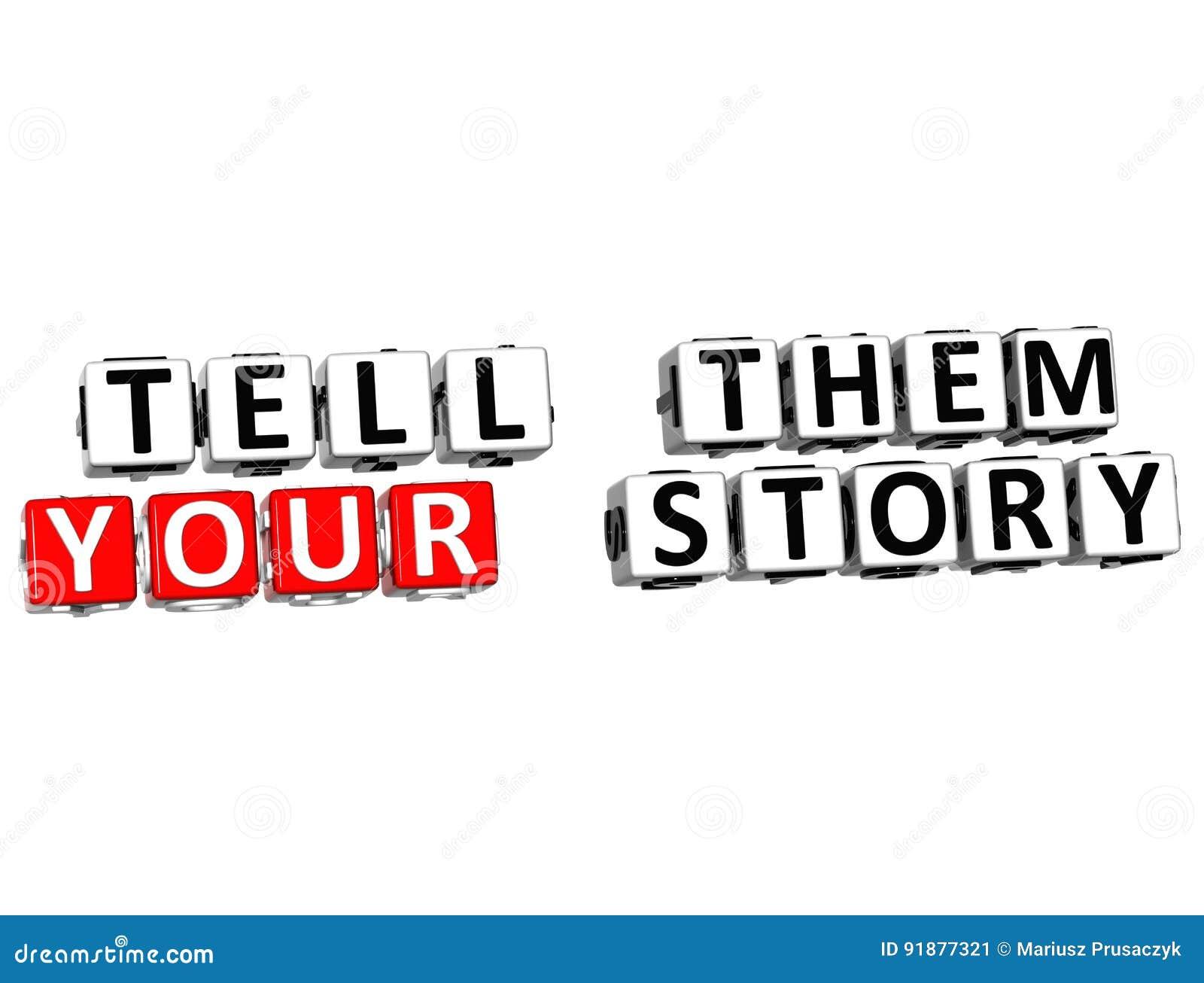 3D berättar dem din berättelse