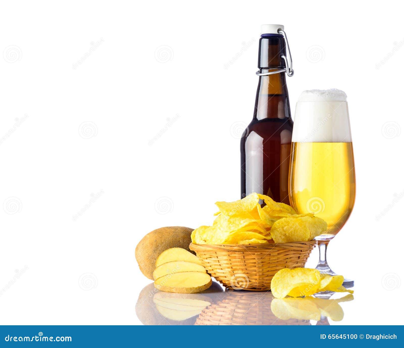 D or-bière avec des Pomme de terre-puces