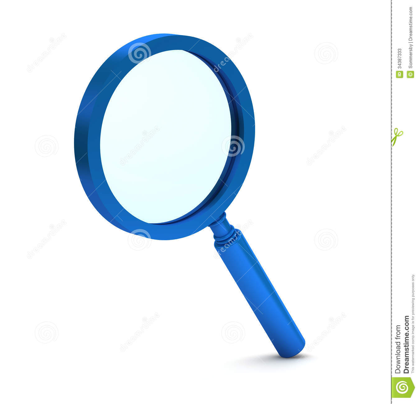 magnifying glass icon blue - photo #17