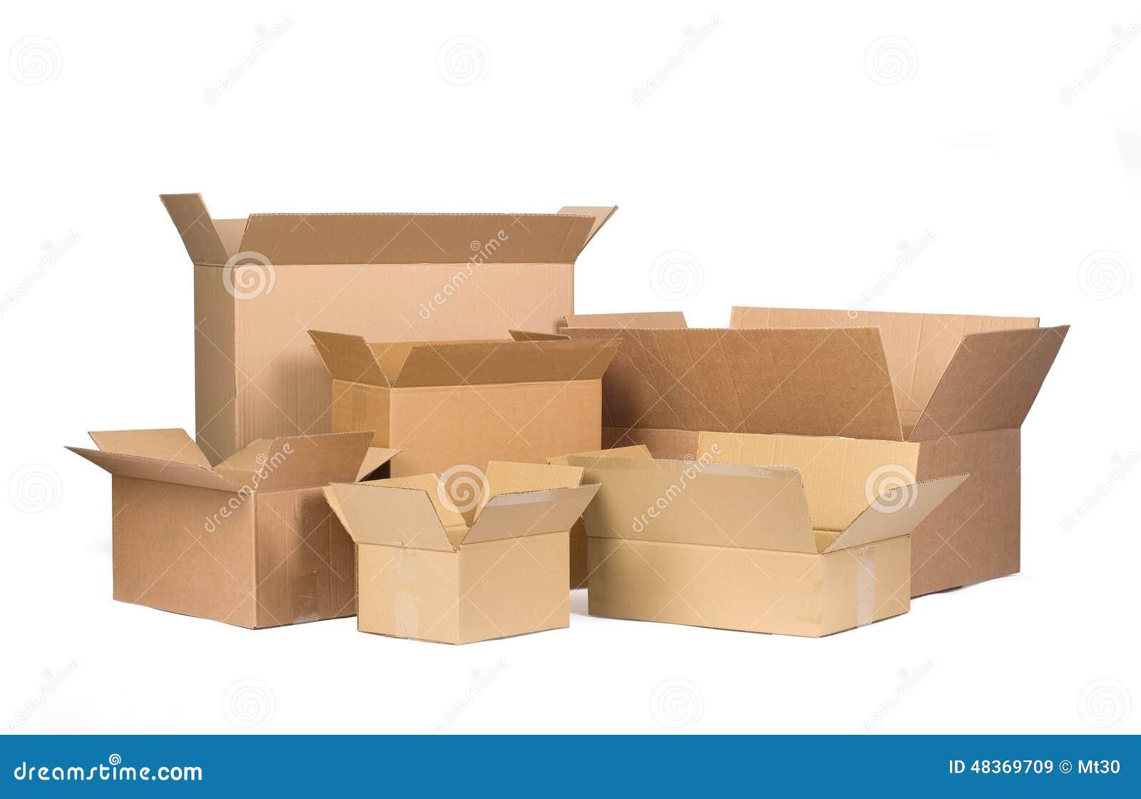 3d boxes papp frambragd bild