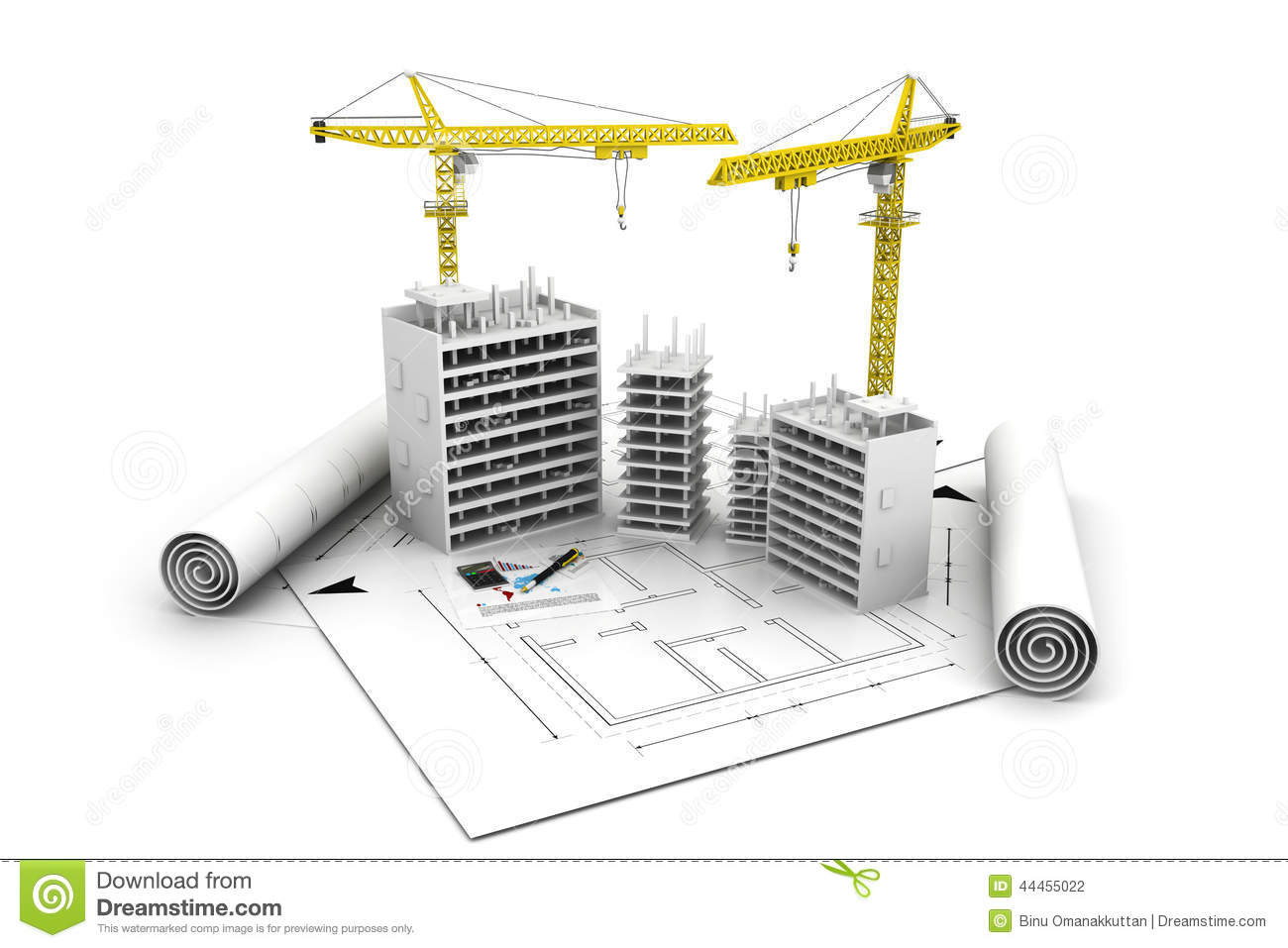 3d building block in construction stock illustration 3d drawing website