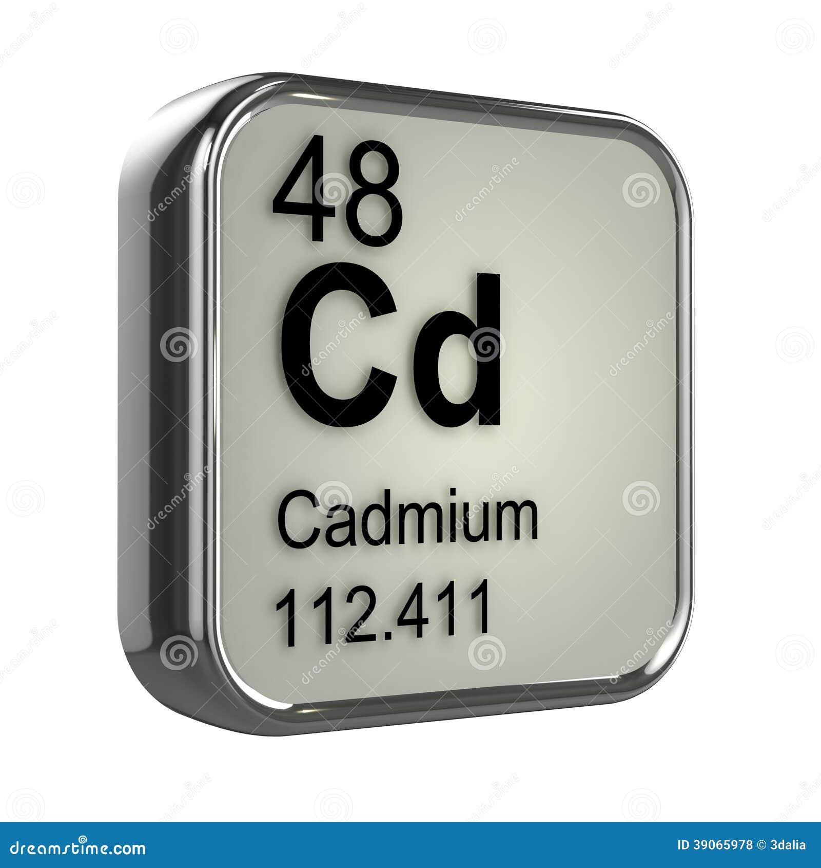 3d Cadmium element