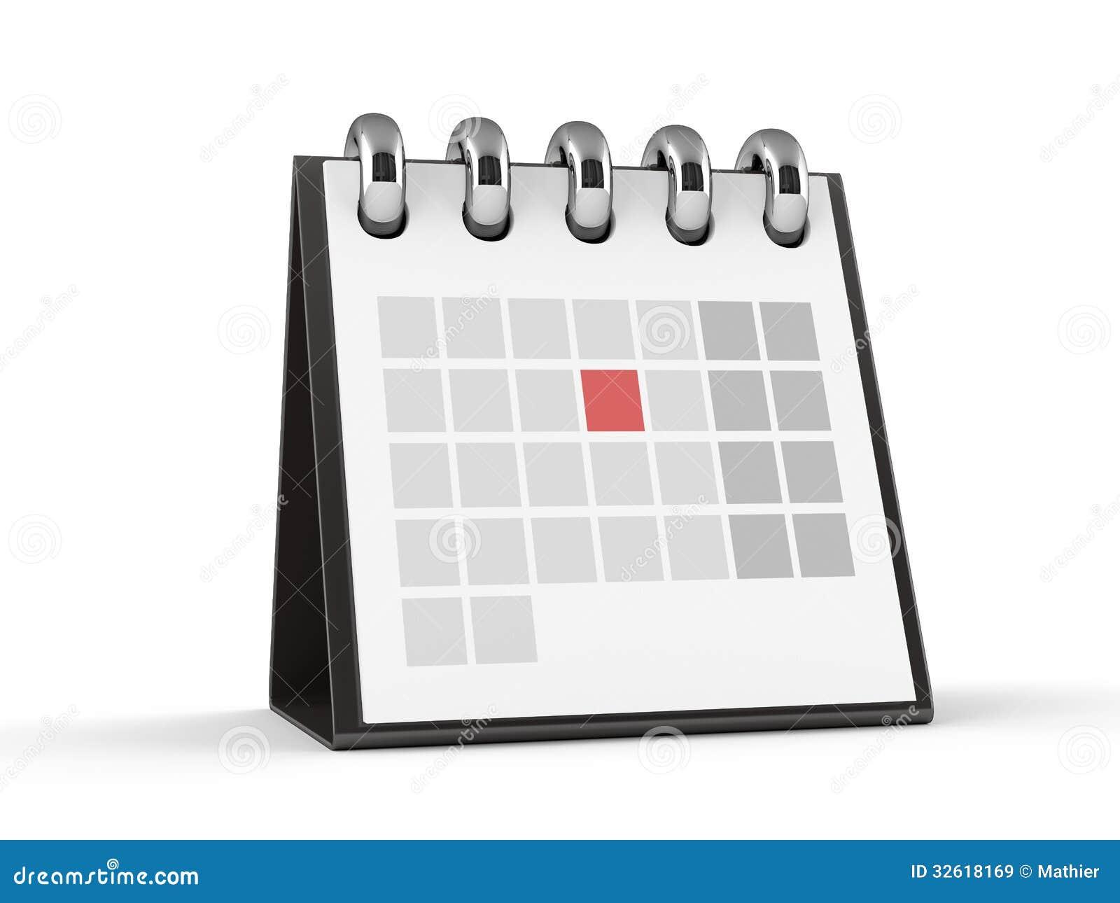 d calendar red event 32618169
