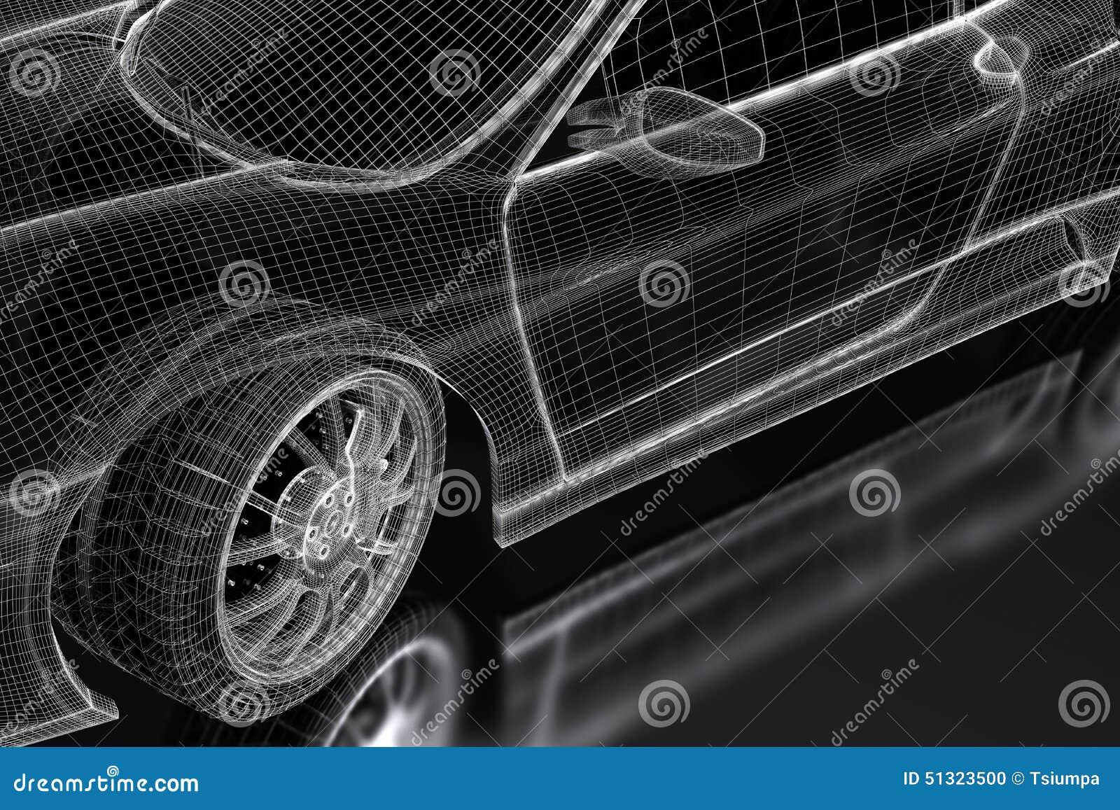 3d car stock illustration illustration of speed technology 51323500 3d car speed technology malvernweather Gallery