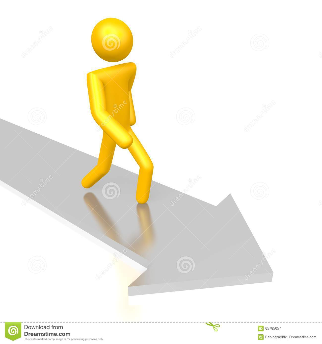 Character Design Career Path : D career path concept stock illustration image