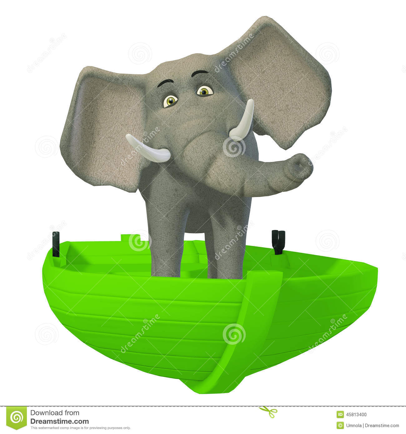 3d cartoon elephant in the boat stock illustration image circus elephant clip art with cocktail circus elephant clipart free