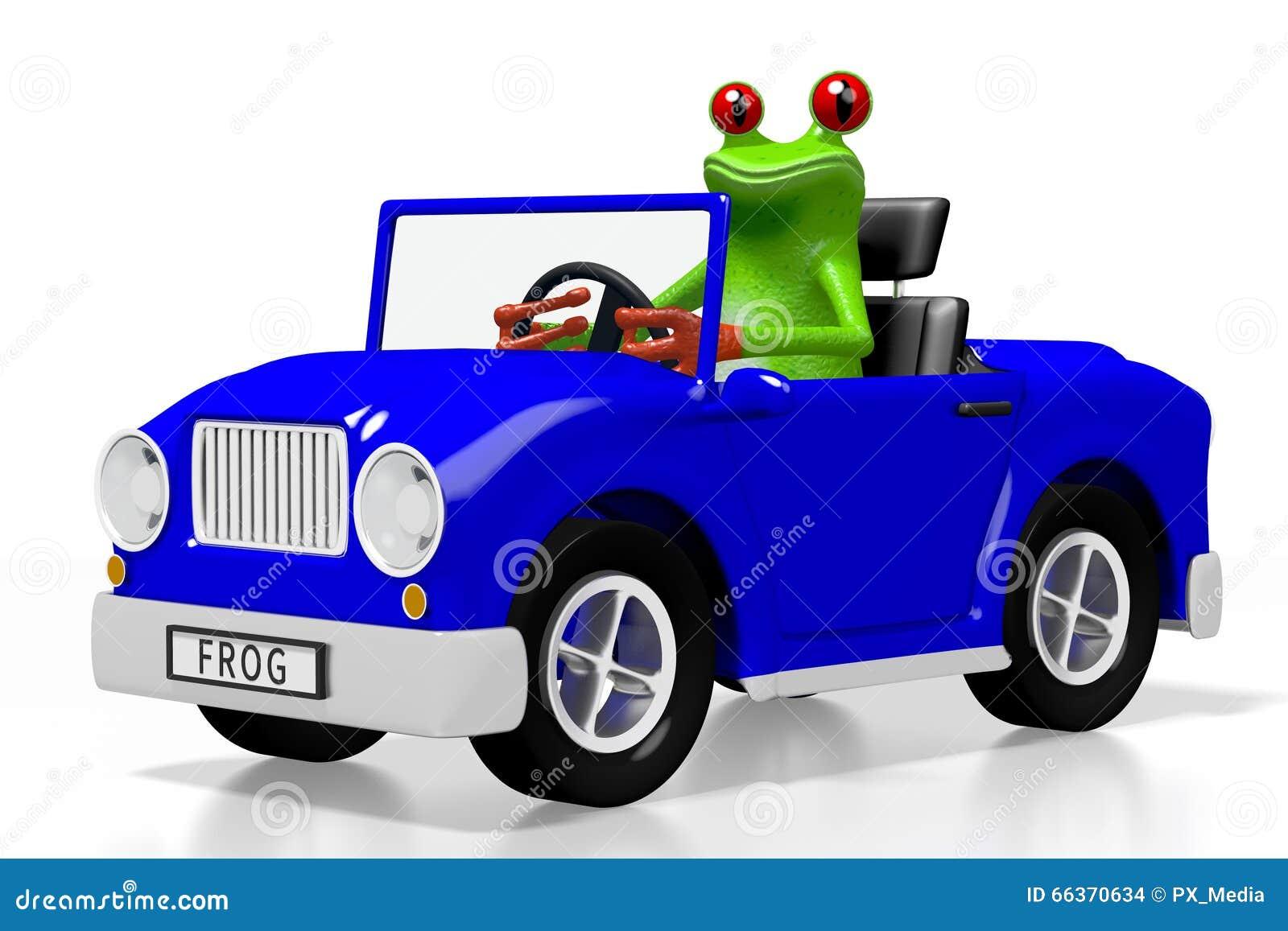 Frog Car Drive