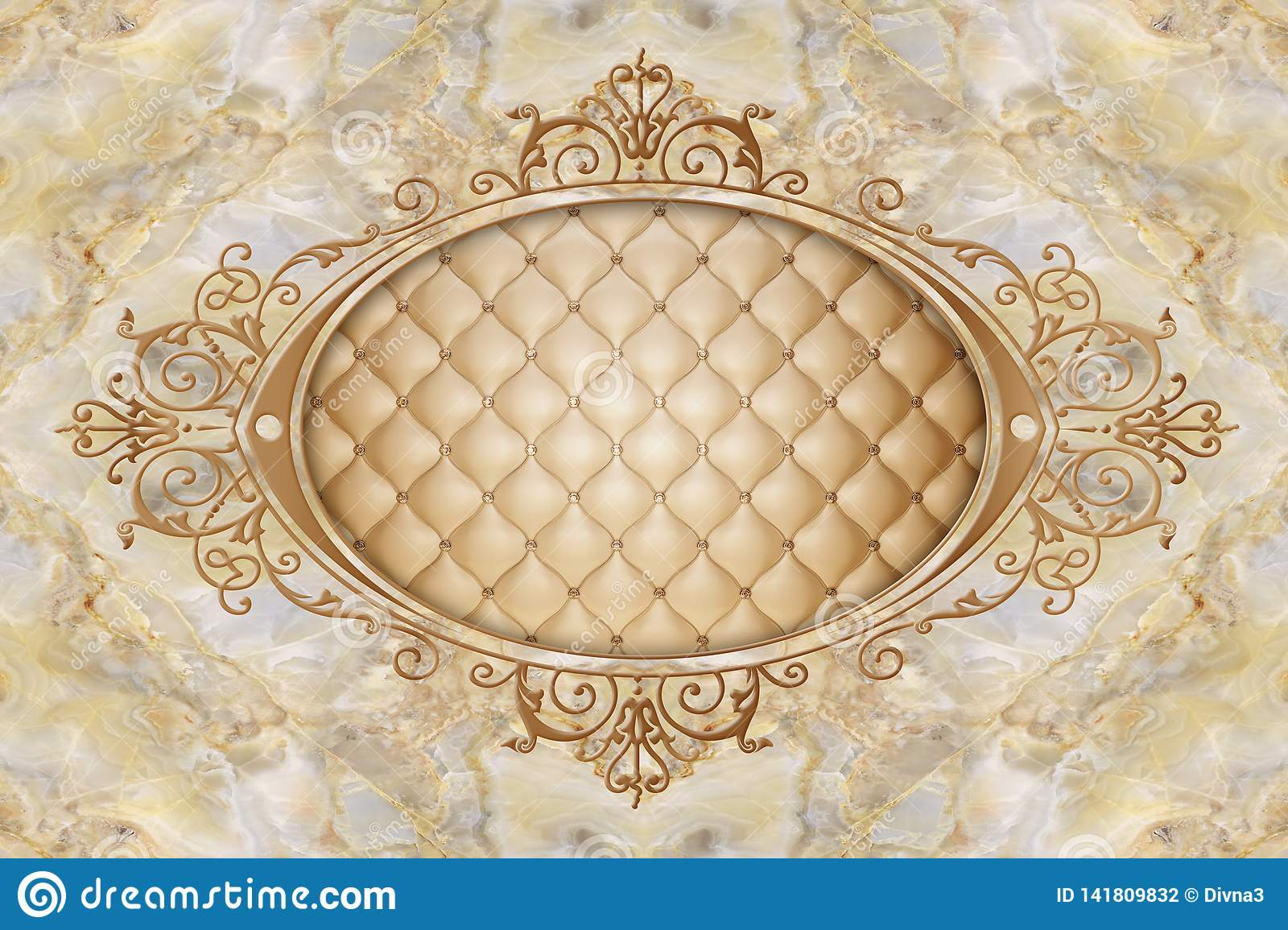 3d Ceiling Murals Wallpaper Stucco Moulding On Marble