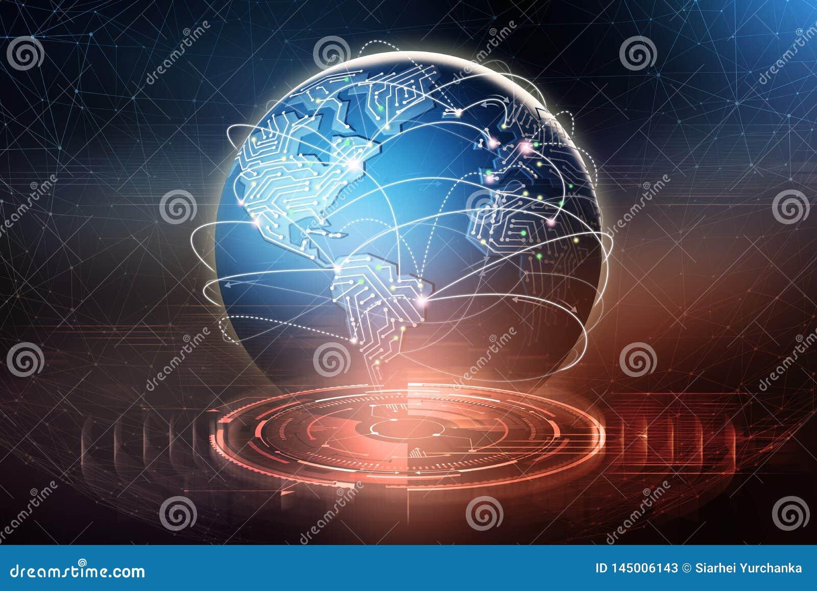 D ?change de donn?es global Formation d un r?seau de transmission plan?taire