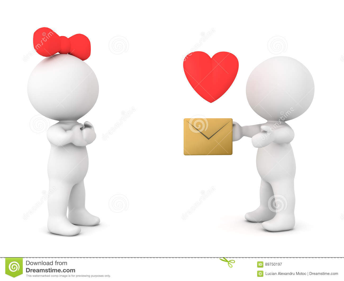 Send A Love Letter from thumbs.dreamstime.com