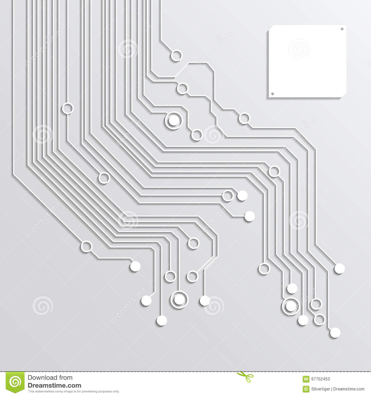 3d circuit board abstract backgrounds