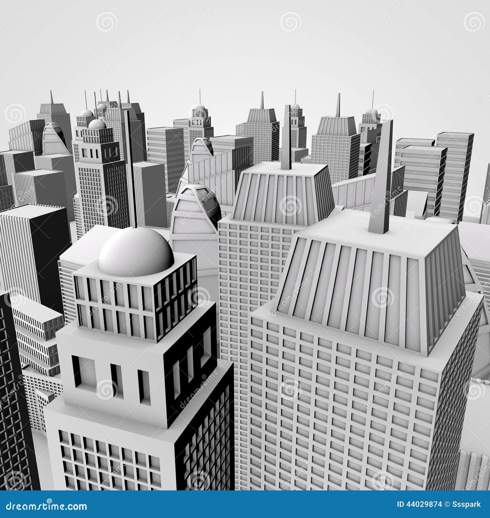 3d City Model Free