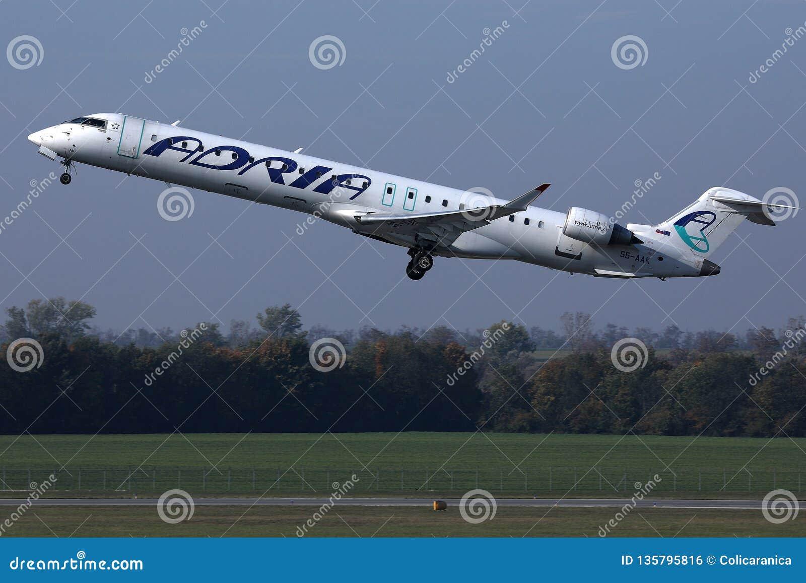 D?collage d avion d Adria Airways