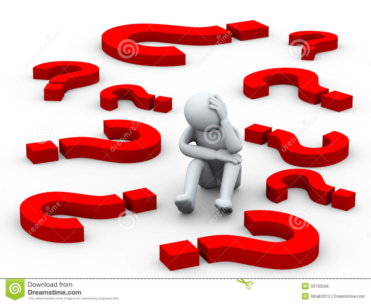 3d confused person between question mark symbols stock question mark clip art images question mark clipart