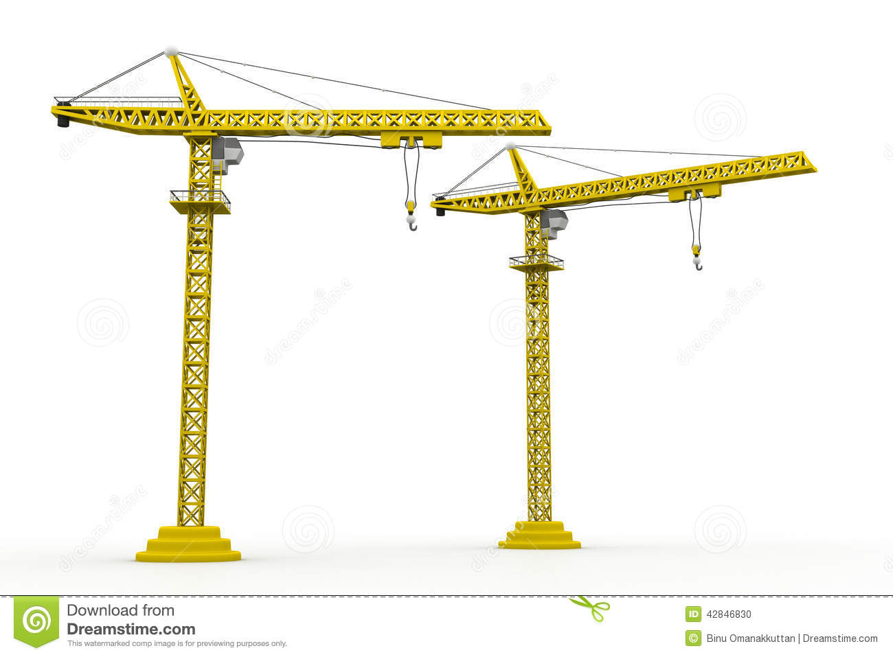 3d crain construction stock illustration illustration of for The crain