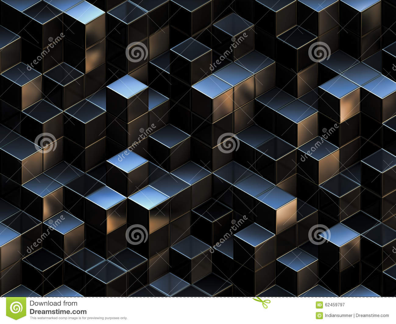 3d abstract cubes background - photo #7