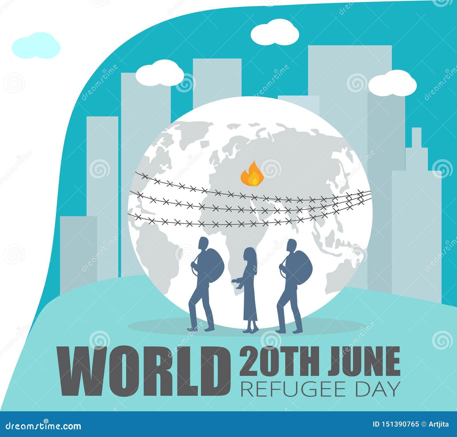 D?a de refugiado de mundo