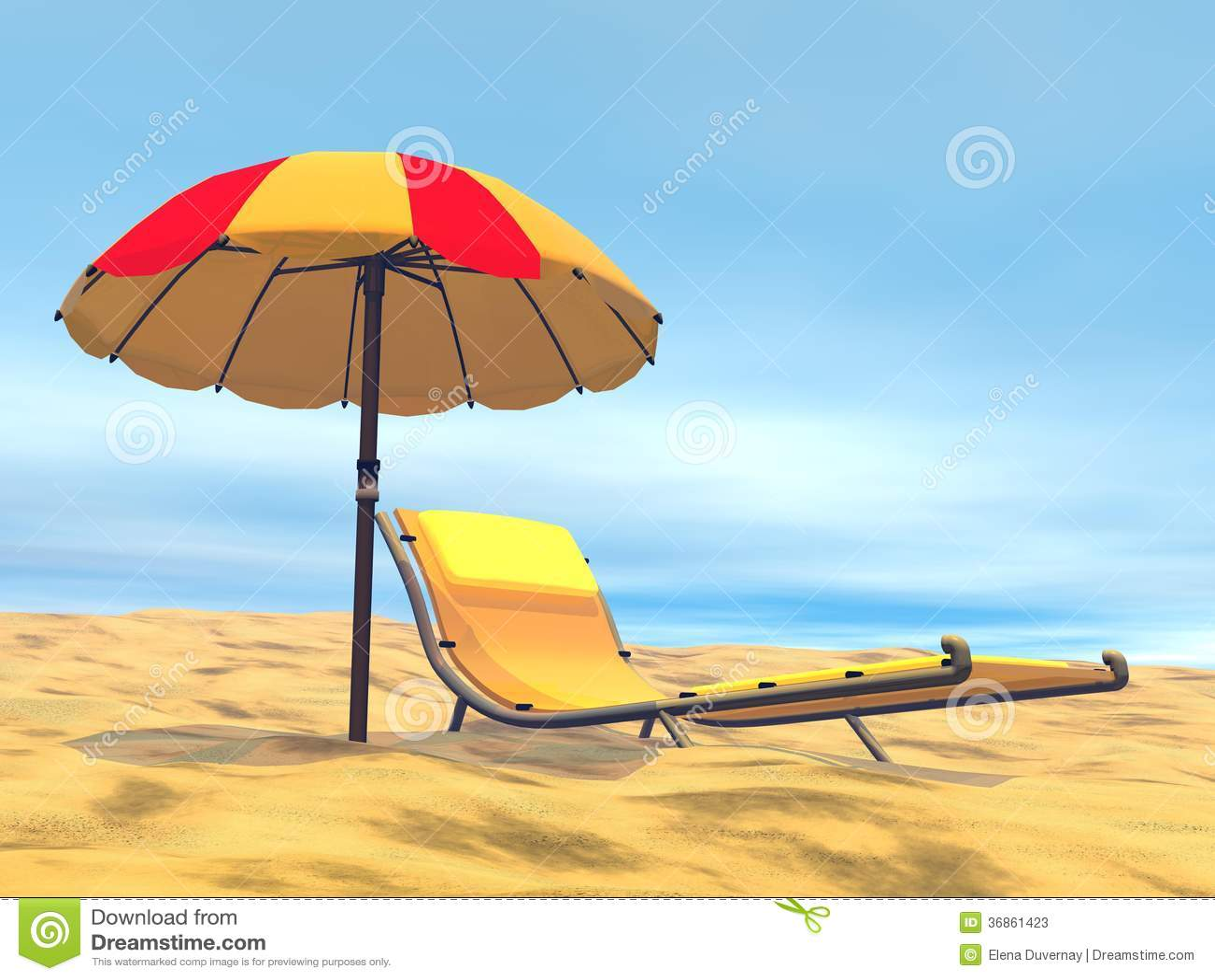 3D de zomerontspanning - geef terug
